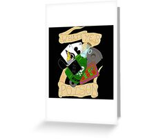 What's Your Poison ? Greeting Card