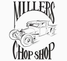 Millers Chop Shop 1929 Model A Truck 2 by YoPedro