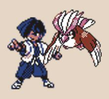 Falkner and Pidgeot by Goosekaid