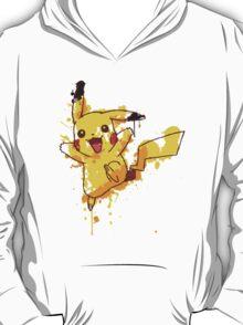 Pikachu Splatter T-Shirt