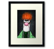 Grumpy Meep Framed Print