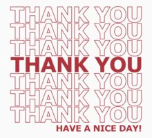 Thank you plastic sack by prolinedesigns