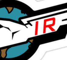 "Thunderbirds- ""IR"" Sticker"
