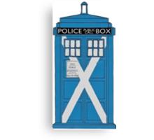 Scottish TARDIS. Canvas Print