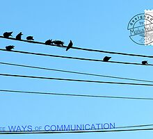 3 ways of communication by MarkusTheLion