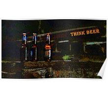 Think beer Poster