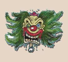 'FLOATING CLOWN HEAD' by stickypencil