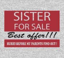 Sister For Sale by incetelso