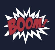 COMIC BOOM, Speech Bubble, Comic Book Explosion, Cartoon Kids Clothes