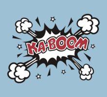 COMIC KA-BOOM, Speech Bubble, Comic Book Explosion, Cartoon Kids Clothes