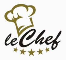 LE CHEF DE CUISINE, Cook Hat, Cooking, Kitchen by boom-art