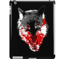 Angry Blood Wolf iPad Case/Skin