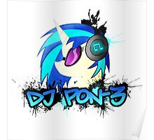 DJ Pon-3 Spray Poster