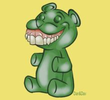 Green Gummy Bear by DanDav
