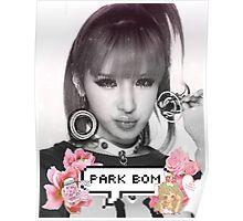 Park Bom 2NE1 Poster