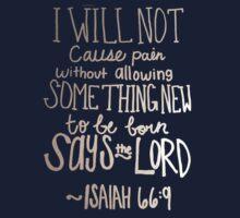 Isaiah 66:9 by daycduke