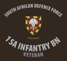 SADF 1 SA Infantry Battalion Veteran Shirt by civvies4vets