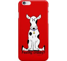 Crabby cow on iPhone 4/4s case! iPhone Case/Skin