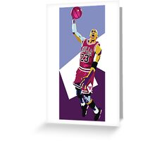 MJ 23 Greeting Card