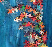 Puzzling wave by sweetzen