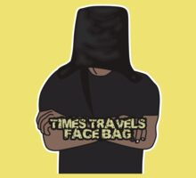 Times Travels Face Bag by pamelahoward