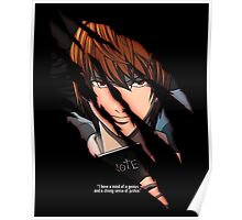 Light Yagami Poster