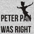 Peter Pan by thecumberlord