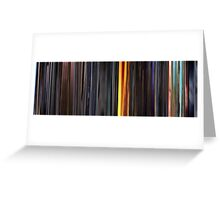 Moviebarcode: Sequence from Kill Bill: Vol. 1 - Chapter 3: The Origin of O-Ren (2003) Greeting Card
