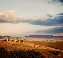 Before the Sunset (Tuscany) by VaidaAbdul