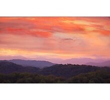 My Cabin View ... In The Smokies !!! Photographic Print