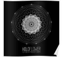 holoFlower - Featured in Fabulous Flowers banner proposal Poster
