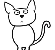 Funny cartoon cat by Style-O-Mat