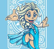 Mini Elsa - Let It Go! by Gilles Bone