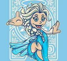 Mini Elsa - Let It Go! by Gilles Bone