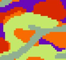 8-bit Woodland Camo (Samus) Sticker