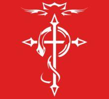 White Fullmetal Alchemist Flamel T-Shirt