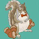 Dapper Squirrel by soapyburps