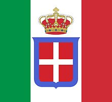 Flag of Kingdom of Italy, 1861-1946 by abbeyz71