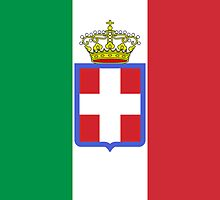 War Flag of Kingdom of Italy (1861-1946) by abbeyz71