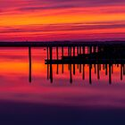Stone Harbor Sunset by martinilogic