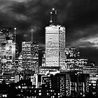 Cityscape 100 Black & White by Keith Vander Wees