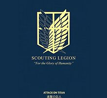 Recon Corps (Attack on Titan) by gondorkz