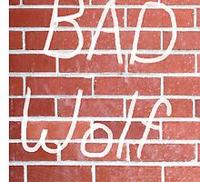BAD WOLF by billiamginger