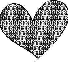 221B Wallpaper Heart by Mathiea