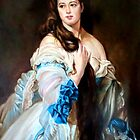Madame Barbe de Rimsky-Korsakov after Franz Xaver Winterhalter by Hidemi Tada