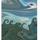 Eye of the Storm iPad Case by Sarah Russell