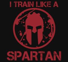 I TRAIN LIKE A SPARTAN by pinkboy