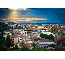 Firenze Sunset Photographic Print