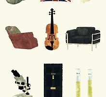 221B Baker Street by sittingdowntype