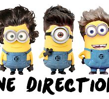 One Direction Minions by YoungBlossoms